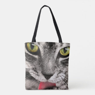 cutest cat in the world tote bag