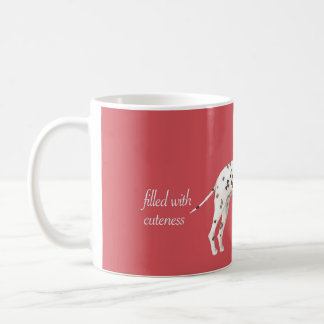 CUTEST COFFEE TIME MUGS-DALMATIAN CUP