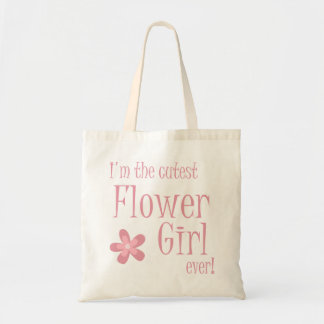 Cutest Flower Girl Pink Bags