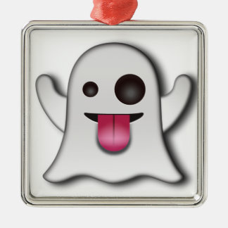 Cutest Ghost next to Casper! Metal Ornament