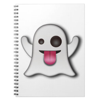 Cutest Ghost next to Casper! Notebook