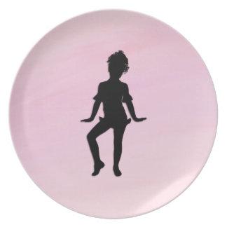Cutest Little Dancer Plate