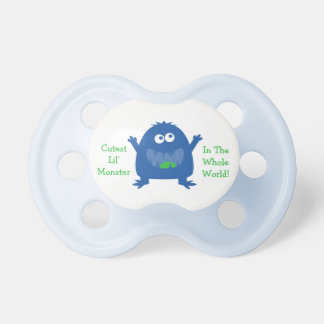 Cutest Little Monster Pacifier
