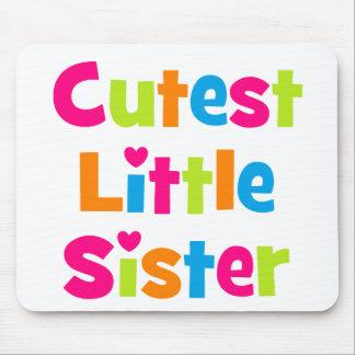 Cutest Little Sister Mousepads
