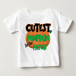 Cutest Pumpkin Baby Halloween T-Shirt