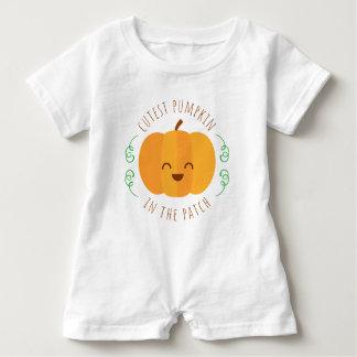 Cutest Pumpkin In The Patch | Romper Baby Bodysuit