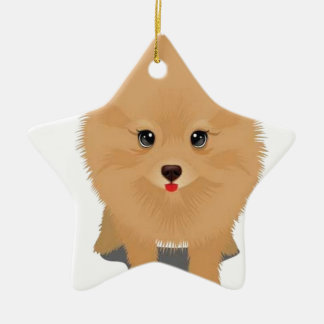 Cutest puppy on earth christmas tree ornaments