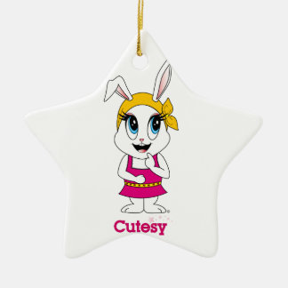 Cutesy Bunny™ Ornament