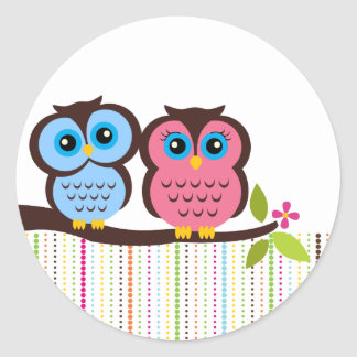 Cutesy Owl Stickers