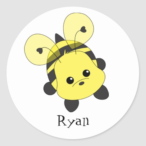 Cutie Bee Sticker