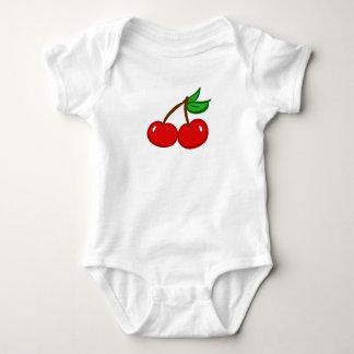 Cutie Fruit Cherry Baby Bodysuit