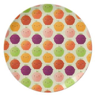 Cutie Fruity Watercolours Plate