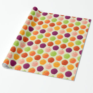 Cutie Fruity Watercolours Wrapping Paper