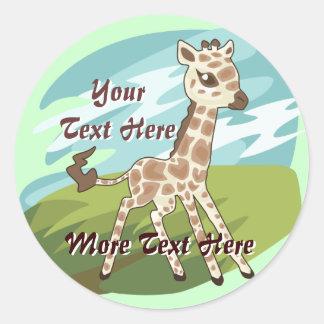 Cutie Giraffe Stickers