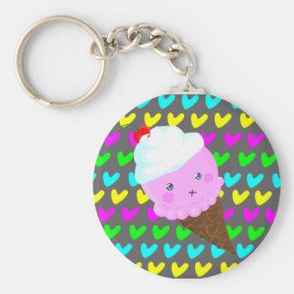 Cutie Ice Cream Keychain