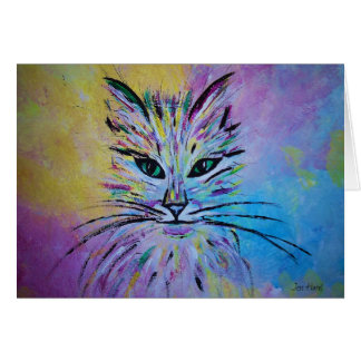 Cutie Kitty Greeting Card