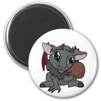 Cutie Krampus! 6 Cm Round Magnet