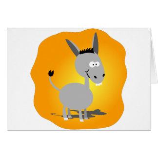 Cutie little Donkey Card