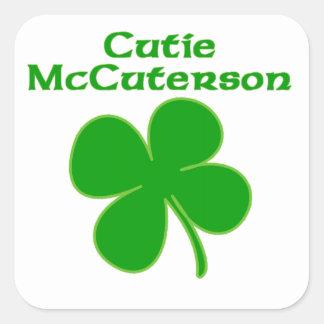 Cutie McCuterson Stickers