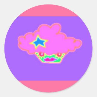 Cutie Patoot Original Round Sticker