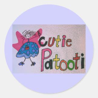 cutie patooti stickers