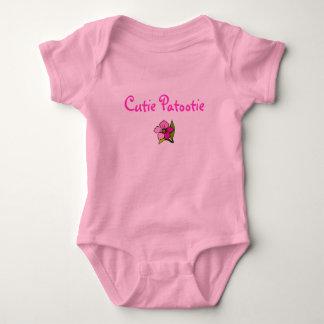 Cutie Patootie 1 Baby Bodysuit