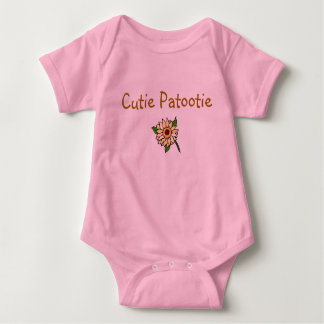 Cutie Patootie 2 Baby Bodysuit