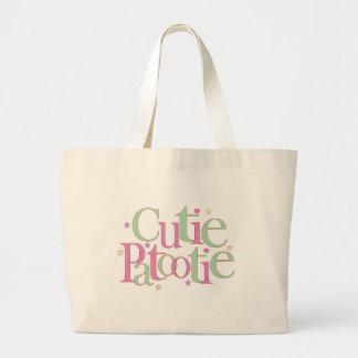 Cutie Patootie Large Tote Bag