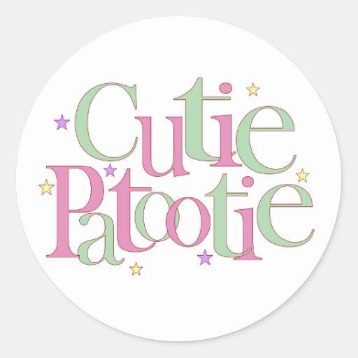 Cutie Patootie Stickers