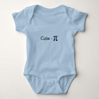 Cutie-Pi (Pie) Blue Baby Creeper T-Shirt