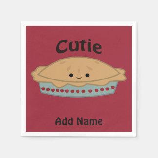 Cutie Pie Paper Napkin