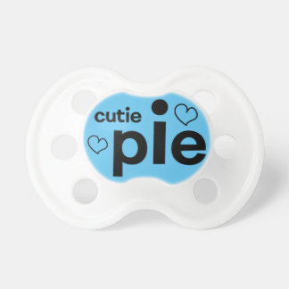 Cutie Pie Soother for baby boy!