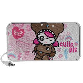 cutie pie iPhone speakers