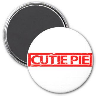 Cutie Pie Stamp Magnet