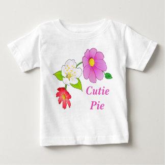 Cutie Pie T Shirts Floral Hawaiian Infant Clothes