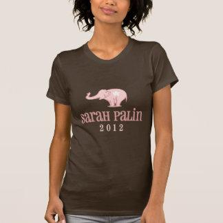 Cutie Pink Elephant Sarah Palin Design T-Shirt