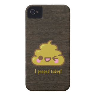 Cutie poo - I pooped today! iPhone 4 Covers