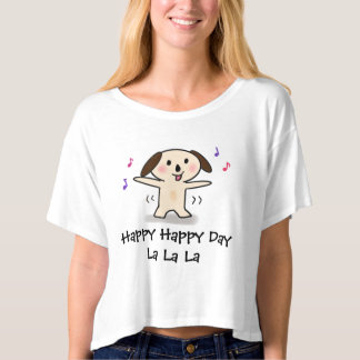 Cutie Puppy having a happy day T-Shirt