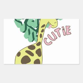 Cutie Rectangular Sticker