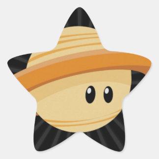 Cutie Saturn Star Sticker