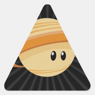Cutie Saturn Triangle Sticker