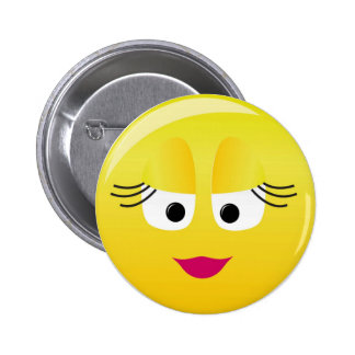 Cutie Smilie 6 Cm Round Badge
