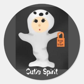 Cutie Spirit, Cutie Spirit Round Sticker