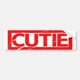 Cutie Stamp Bumper Sticker