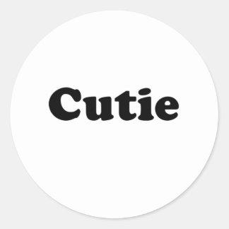 cutie round stickers