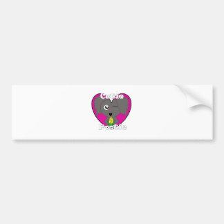 Cutie Unicorn Bumper Sticker