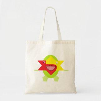 Cutieful Kids Art Design Funny Fantasy Star Fish Tote Bag
