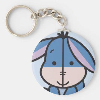 Cuties Eeyore Basic Round Button Key Ring