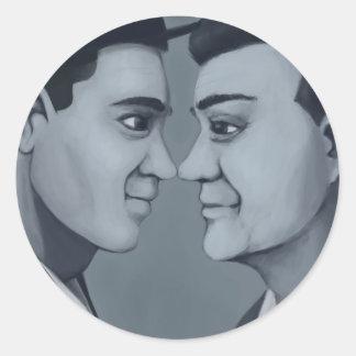 Cuties In Love: Mango Seltzer Round Sticker