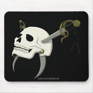 Cutlass Skull Mouse Pad